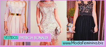 Vestidos da Patrícia Bonaldi da Moda