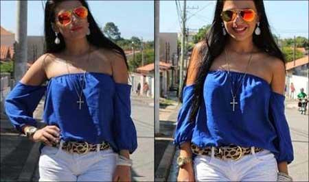 modelos de blusas de cigana
