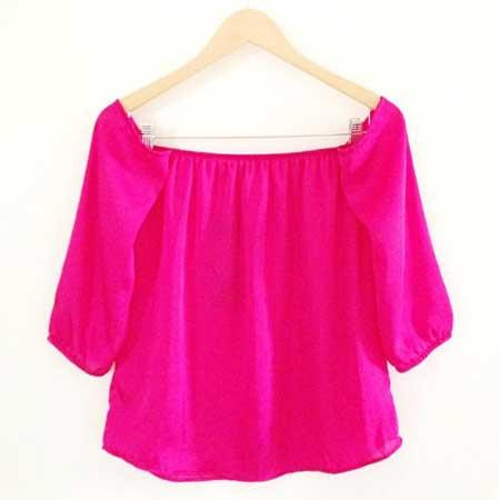 blusas ciganinha da moda feminina