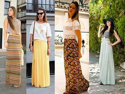 sugestões de saias