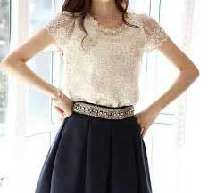 blusa de renda da moda