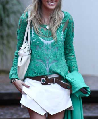 roupas contemporâneas da moda