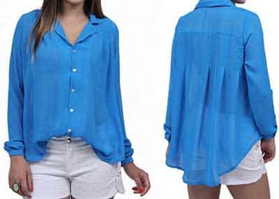 modelos de blusas transparentes