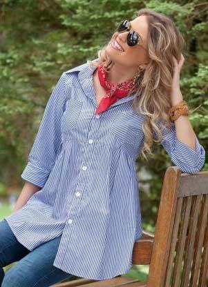 blusas sociais da moda