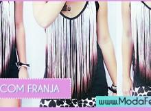 modelos de blusas com franja