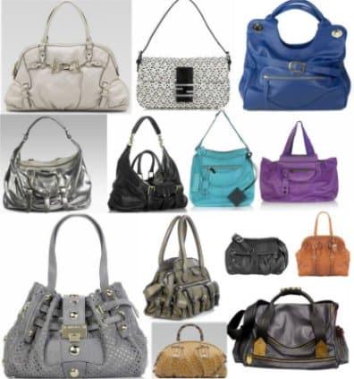 modelos de bolsas couro fino