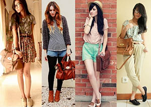 bolsas para faculdade da moda