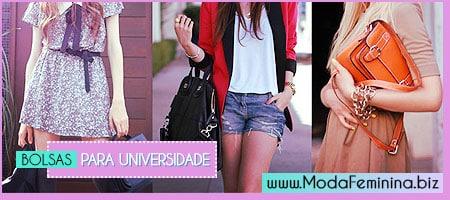 modelos de bolsas para universidade