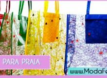 modelos de bolsas de praia