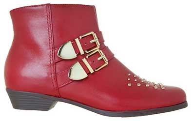 botas cano curto da moda