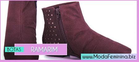 modelos de botas ramarim 2014