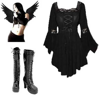 moda gótica