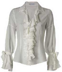dicas de blusa de seda