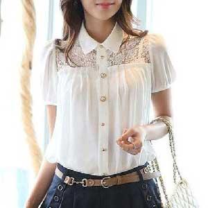 imagens de blusa de seda
