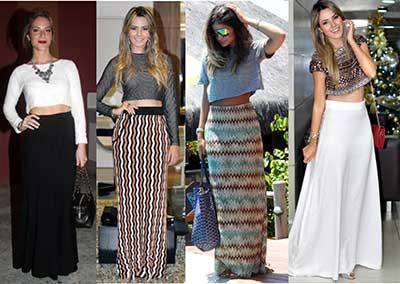 modelos de blusa cropped