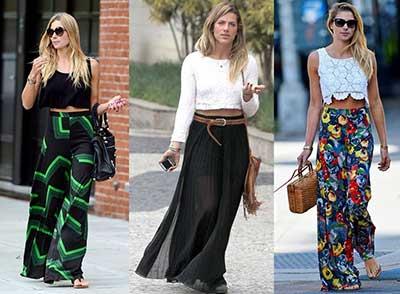 tendências da moda cropped