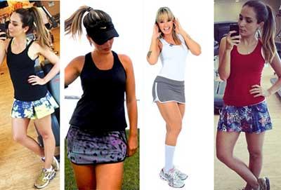 c2b110f355 Dicas de Looks Femininos para Academia  Fotos de Modelos