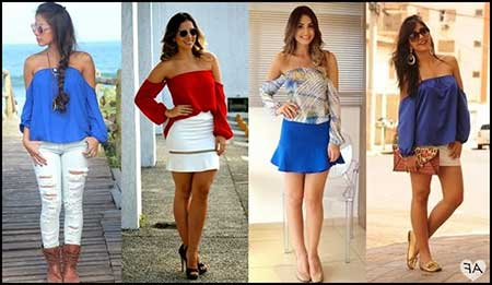 modelos de blusas ciganinha