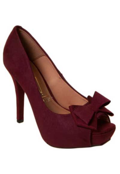 fotos de sapatos peep toe