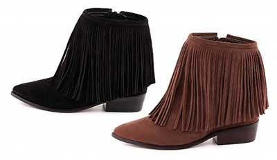 6c0da57a7 botas femininas. Preta cano curto. cano curto. Country com franjas. com  franjas. Arezzo