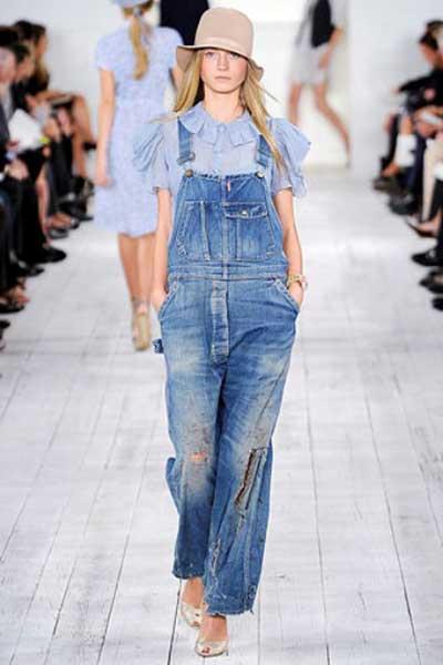 feitos de jeans