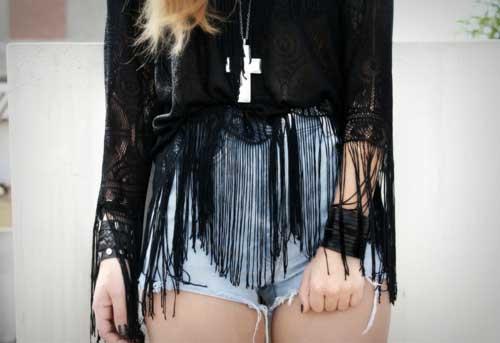 blusas curtas da moda