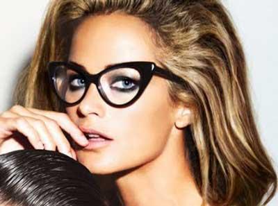 óculos de gatinho de grau