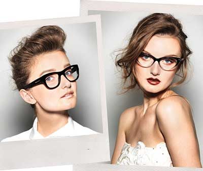 óculos de gatinho