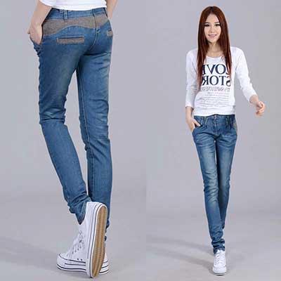 calças skinny
