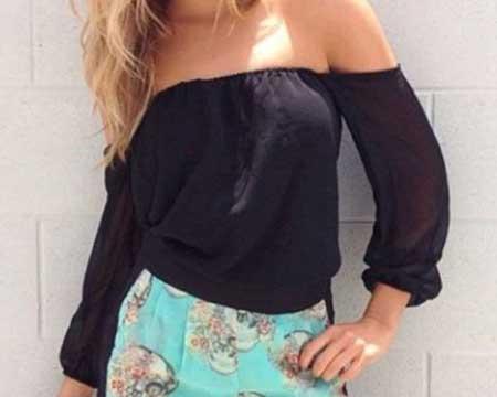 inspiração para blusas ciganinha