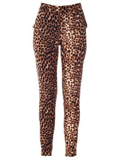 tendências de calças estampadas
