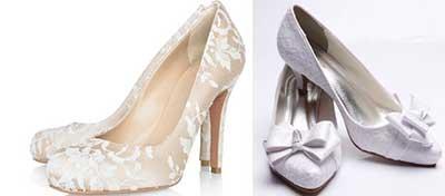 sapato de noiva da moda