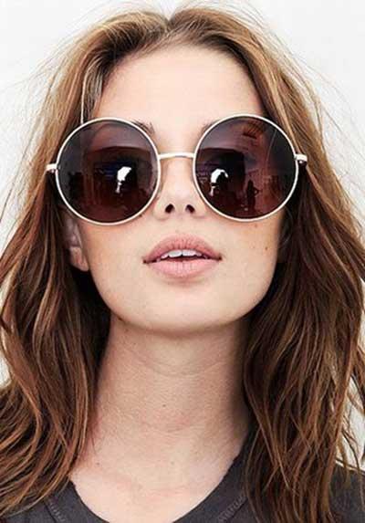 modelos de óculos redondos