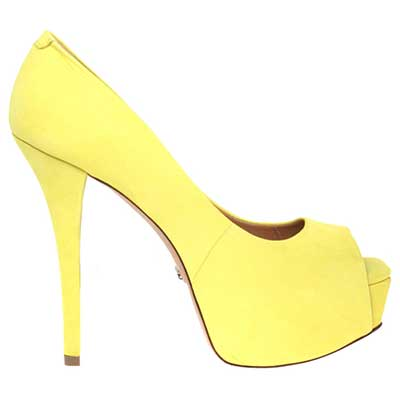 modelos de peep toes