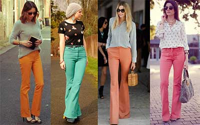 looks com lindas calças