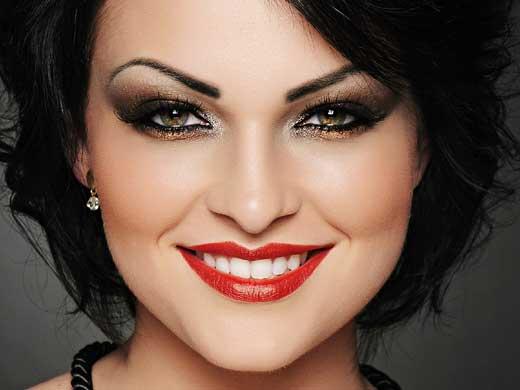 Fotos de maquiagem para vestido preto