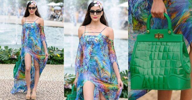 modelos de vestidos com fenda 2014
