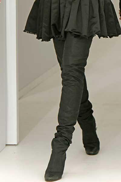 botas de cano longo