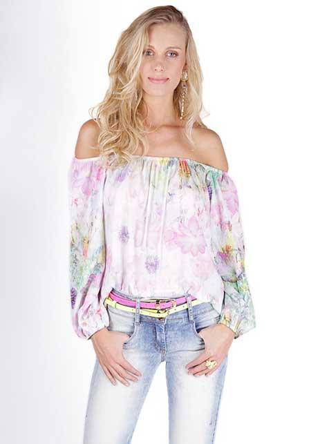 imagens de blusa ciganinha