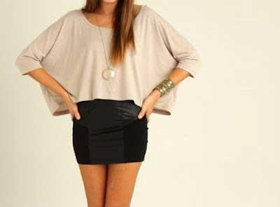 imagens de blusas curtas