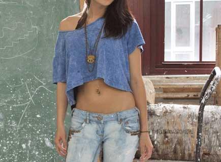 fotos de blusas curtas