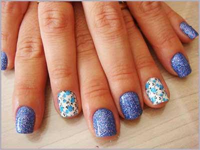imagens de esmaltes azuis