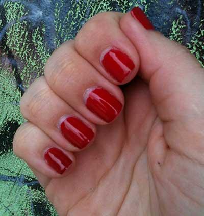 prata e vermelho