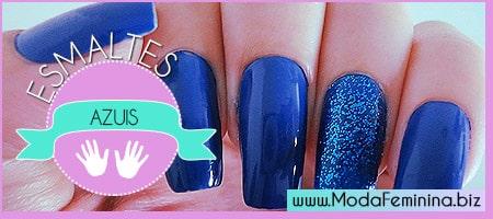 dicas de esmaltes azuis