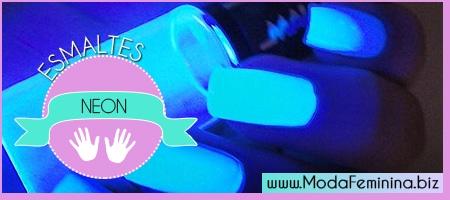 dicas de esmaltes neon