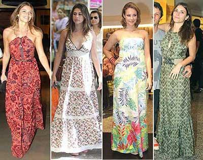 fotos de vestidos estampados