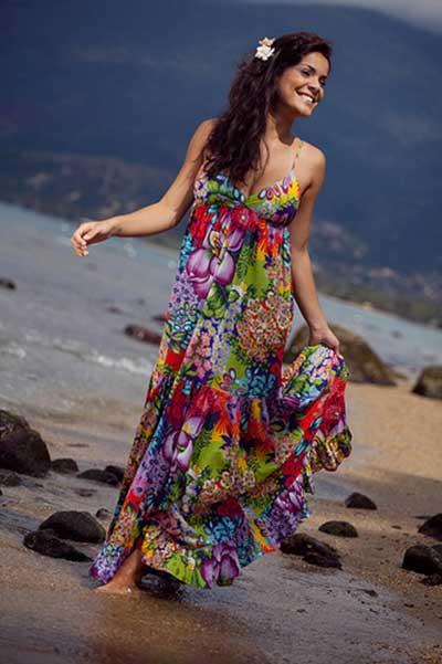 vestidos com Estampas chamativas