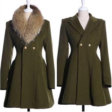 modelos de casacos de lã