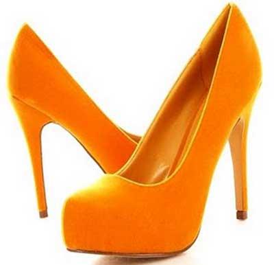 imagens de sapatos meia pata