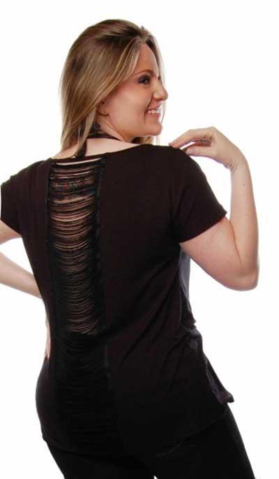 dicas de blusas com franjas